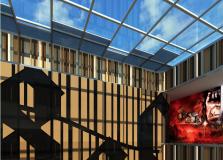 购物中心设计效果图:海南海建商业大厦商业部分效果图