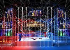 拳击比赛舞美效果图拳击比赛舞台效果图案例