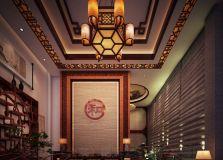 沧州中医理疗会所古典中式装修 风格高雅 归向自然