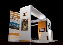 上海艾肯展览公司展厅设计图
