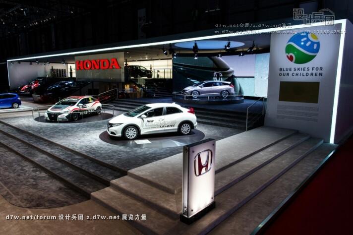 2013日内瓦车展--本田(HONDA)展台