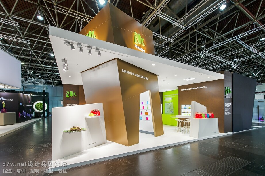 2014EUROSHOP NUALIGHT展台设计