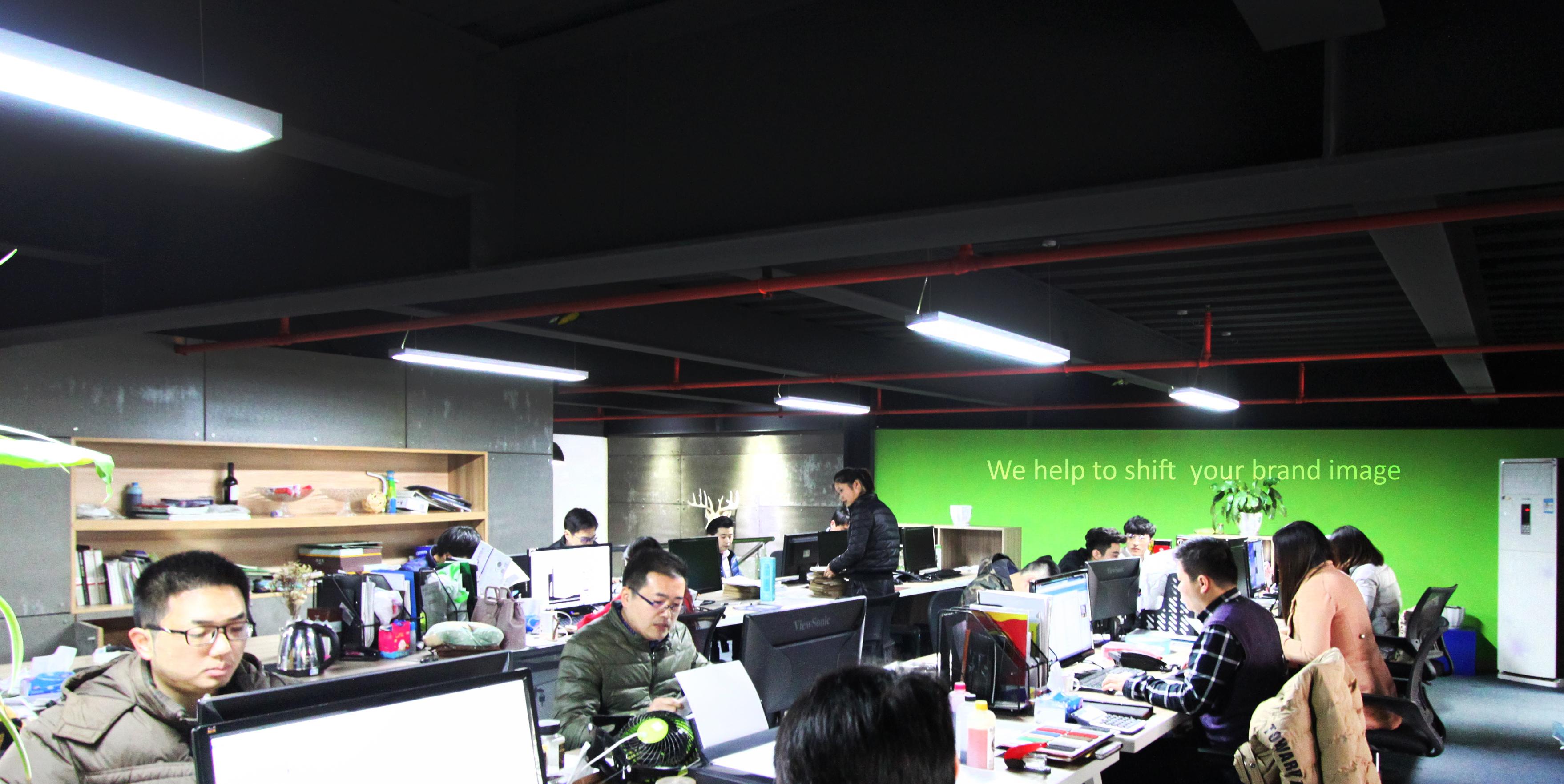 二楼办公区