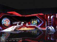 2013年巴克莱英超联赛演播厅设计