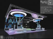 设计兵团2015【北京】学员[王乐] 上海CES电子展 英特尔展台 [临习作业]