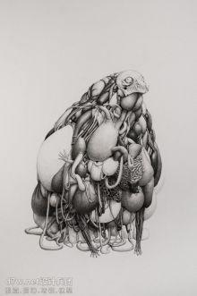 【展途分享】铅笔微缩绘画