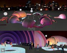 摩登音乐节 建筑设计