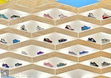 韩国Suppakids儿童运动鞋店室内设计