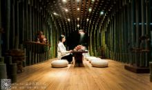 米丈(MINAX)设计工作室设计的莲花竹茶室