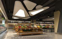 分享广西商场装修效果图:广西钦州奥林财富中心设计效果图