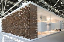 2013意大利卫浴展ariostea展台设计--挑战你的视觉冲击力