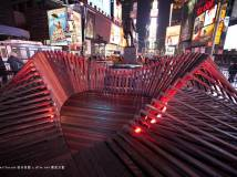 美国纽约Situ Studio's 'Heartwalk' Opens in Times Square