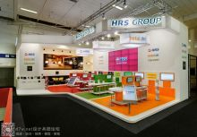 HRS GROUP展台设计--2014ITB柏林国际旅游展
