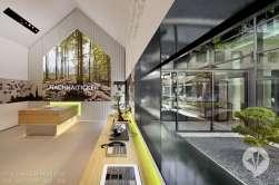 德国danpearlman公司作品   施韦比施哈尔品牌楼