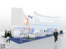 Martinex展台设计--俄罗斯美女设计师作品(二十四)