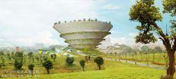 台湾新北市螺旋花园博物馆