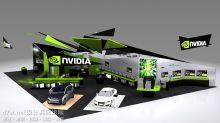 NVIDIA 各种展台效果图及照片对比集合