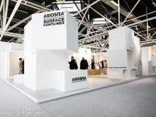 【兵团独家】迟来的展会报道--2013意大利卫浴展ariostea展台设计