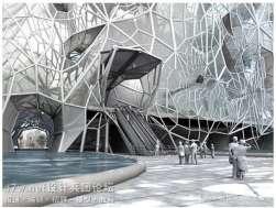 阿联酋,迪拜,生态管/Faulders工作室