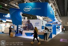 Intel(英特尔)展台设计---2014巴塞罗那电信展