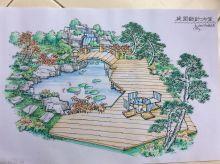 园林设计手稿