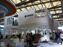 2014上海乐器展,雅马哈展台效果图+现场施工图(不知道哪家牛逼公司做的)