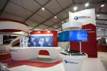 印度全球气象与航空公司展台设计