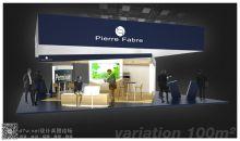 法国合成新纳米纤维--PIERRE FABRE 展台设计