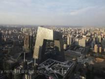 大裤衩--北京中央电视台总部(效果+结构图+现场照片)
