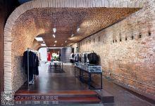 25000个纸袋组成的墙面装饰——OWEN服装店的室内设计
