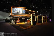 OnLive展台设计--E3游戏展